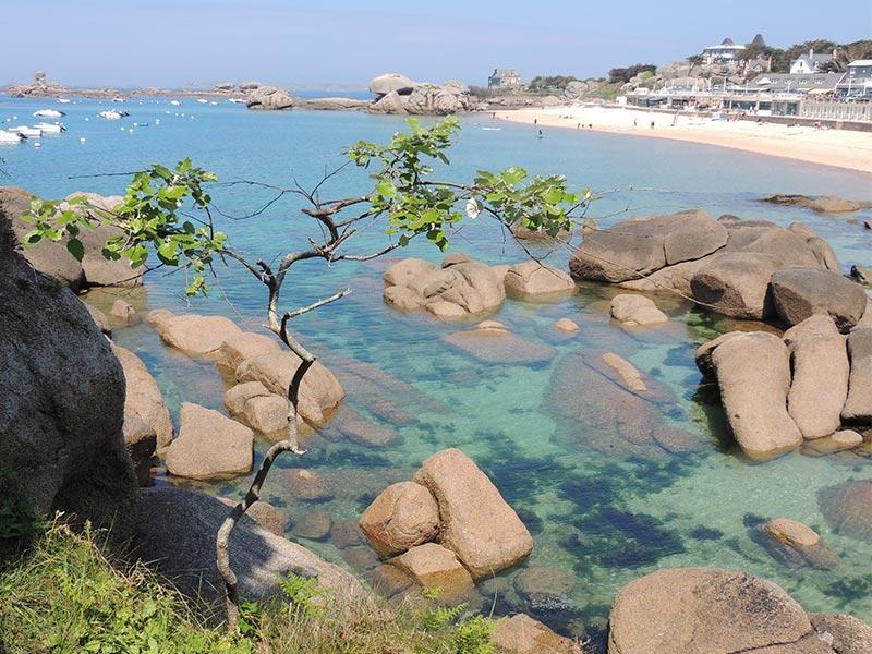 Ploumanac'h Trégastel plage © Gite Les 3 Voiles