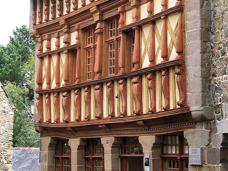 Tréguier Maison Ernest Renan © Gite Les 3 Voiles
