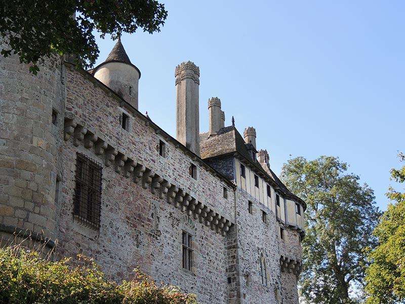 Château de la Roche Jagu © Gite Les 3 Voiles