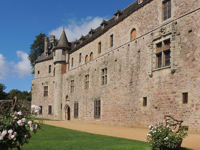 Château et jardin de la Roche Jagu © Gite Les 3 Voiles