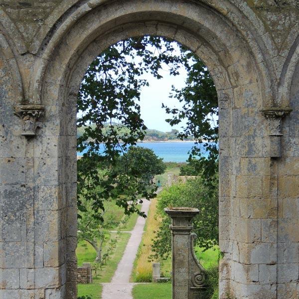 Jardins de l'Abbaye de Beauport © Gite Les 3 Voiles