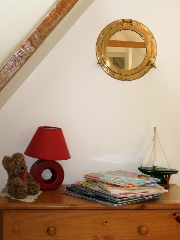 Chambre 2, BD pour enfants © Gite Les 3 Voiles