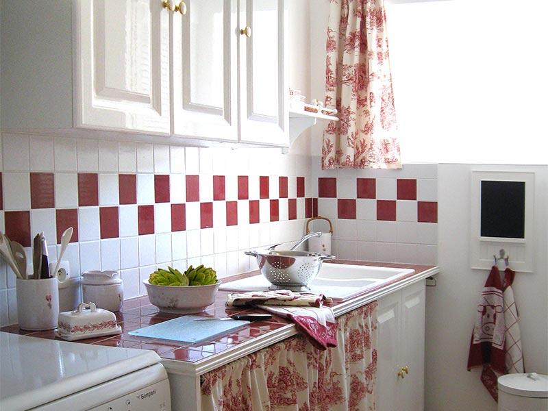 La cuisine © Gite Les 3 Voiles