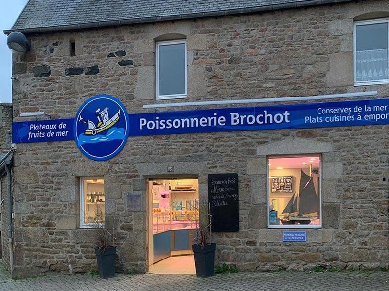Ploumilliau Poissonnerie Brochot © Gite Les 3 Voiles