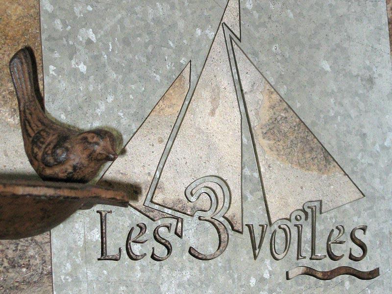 Décoration signée Les 3 Voiles © Gite Les 3 Voiles