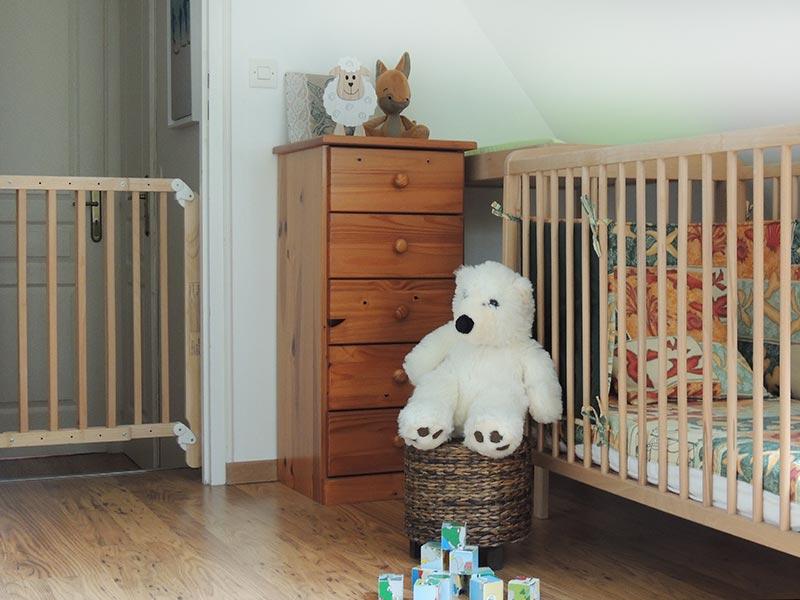 Espace bébé © Gite Les 3 Voiles