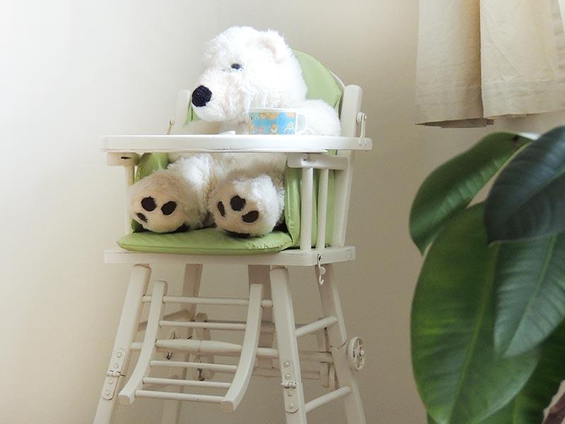 A table bébé ! © Gite Les 3 Voiles