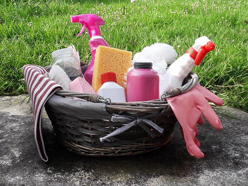 produits ménagers Gite Les 3 Voiles