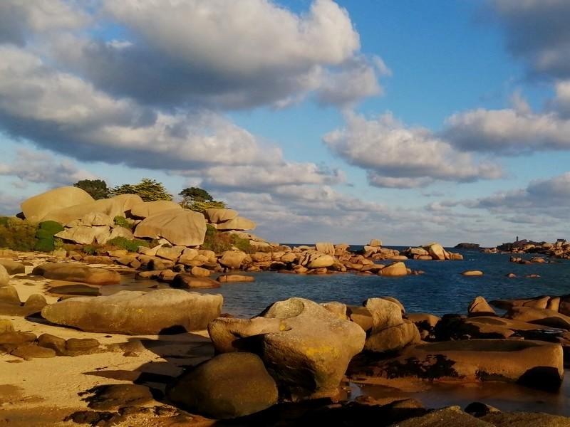 Lîle Renote Location de vacances GîteLes3Voiles 07 Vue sur la mer
